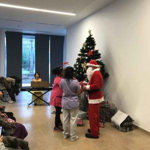 Noël à l'EHPAD Claude Pompidou à Nice